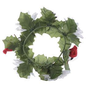 Girocandela di Natale (per candele classiche) pigne e pupazzi s2