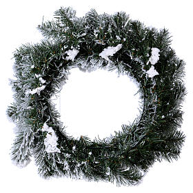 Advent wreath garland, diameter 50 cm s4