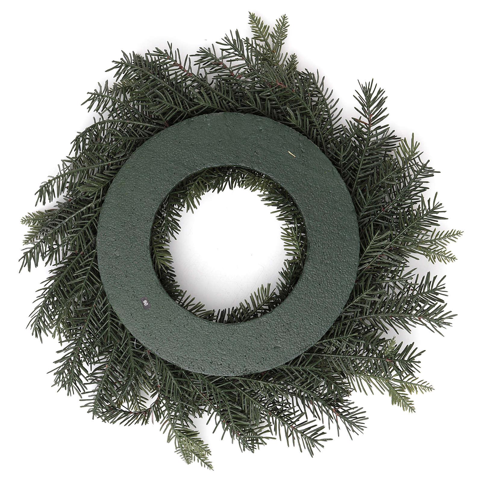 Grinalda do Advento simples diâm. 50 cm 3