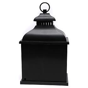 Lanterne LED effet flamme 20x25x15 cm s5