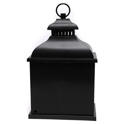 Lanterne LED effet flamme 20x25x15 cm 5