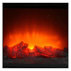 Stufetta led effetto fiamma 20x25x15 cm s2