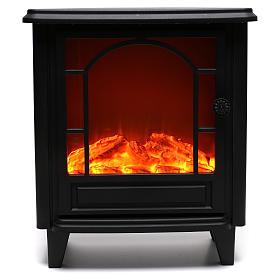 Caminetto led effetto fiamma 40x35x15 cm s1