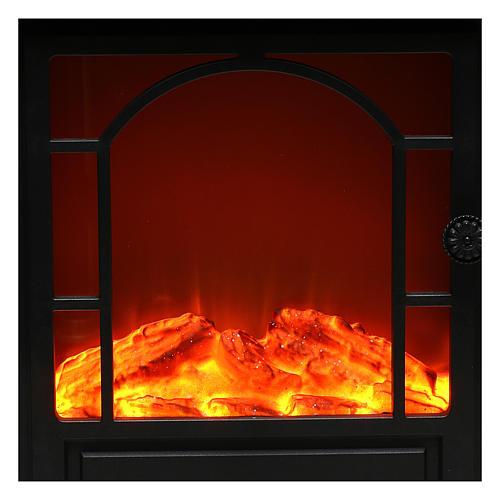 Caminetto led effetto fiamma 40x35x15 cm 2