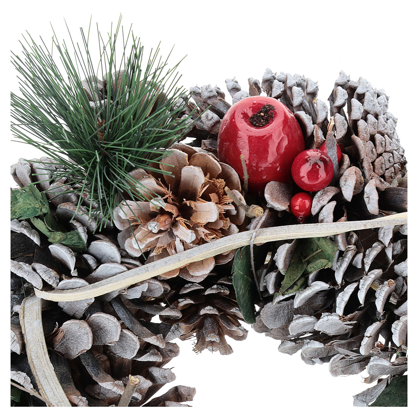 Christmas wreath with twig triangle diam. 32 cm 3