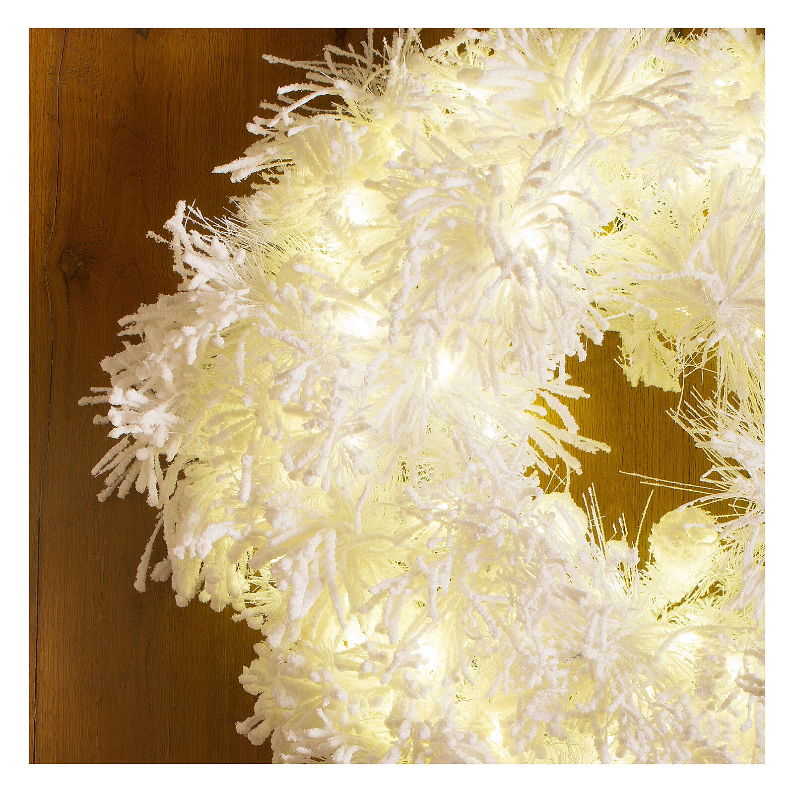 STOCK Korona adwentowa White Cloud 100 led średnica 75 cm 3