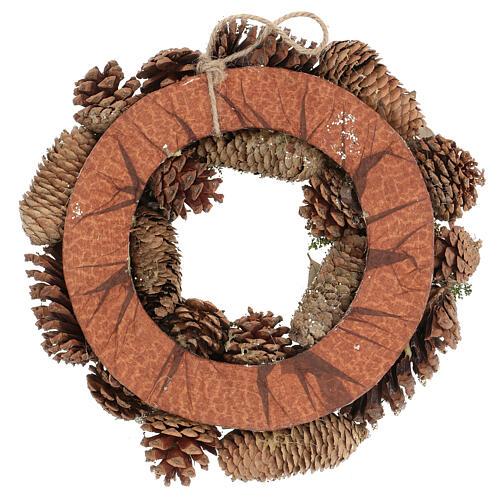 Christmas wreath advent wreath gold 30 cm 4