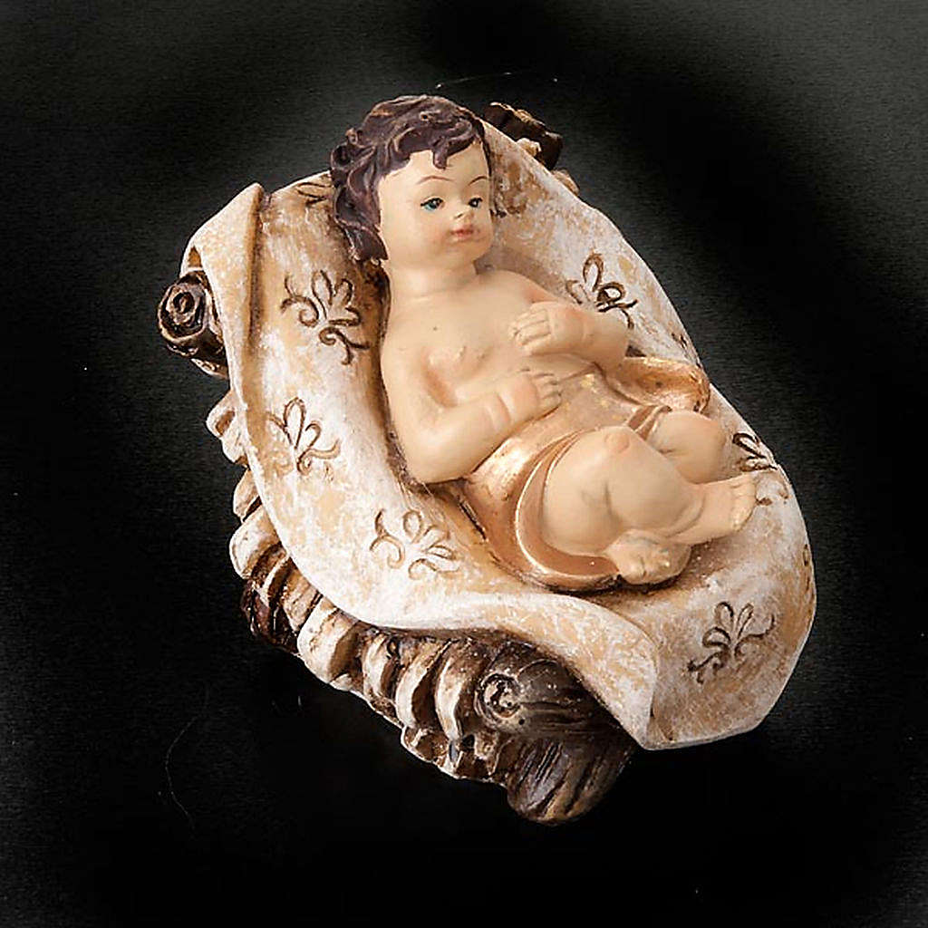 Inlayed resin crib, 28 cm 4