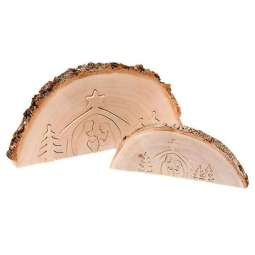 Presepe in legno ad incastro 4