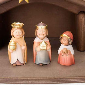 Children wooden crib with magnets s4