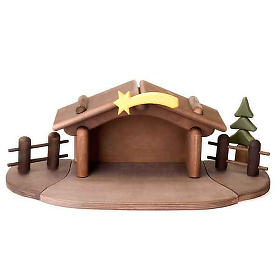 Children wooden crib with magnets s9