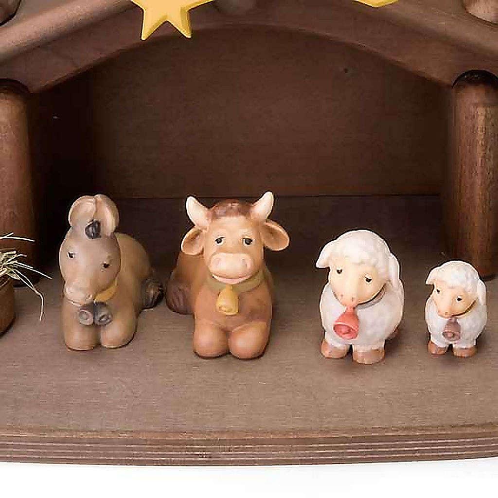 Belén Niños madera con imanes 4