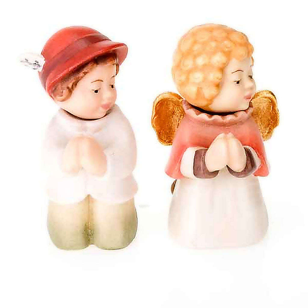 Presepe Bambini legno con magneti 4