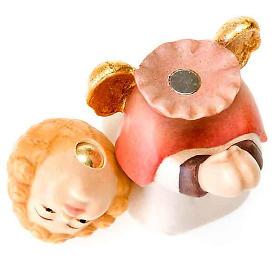Presepe Bambini legno con magneti s6