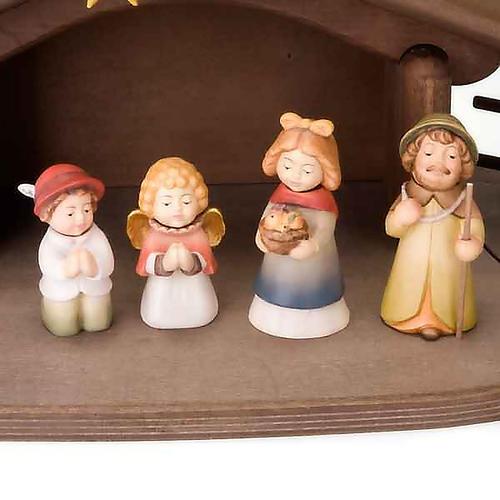 Presepe Bambini legno con magneti 2