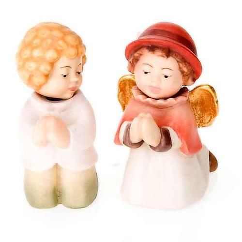 Presepe Bambini legno con magneti 7