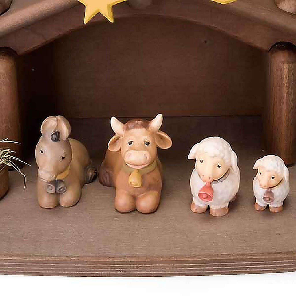 Children wooden crib with magnets 4