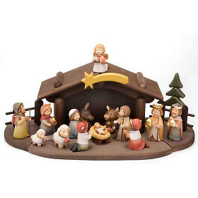Children wooden crib with magnets s1