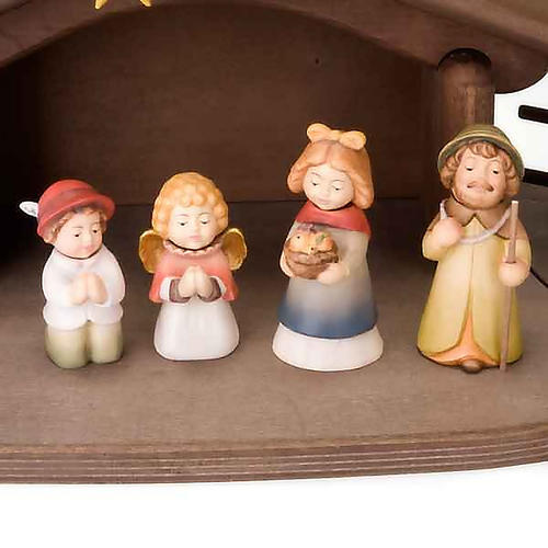 Children wooden crib with magnets 2