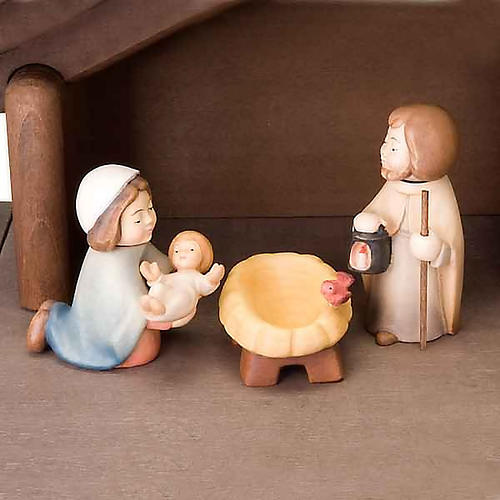 Children wooden crib with magnets 5
