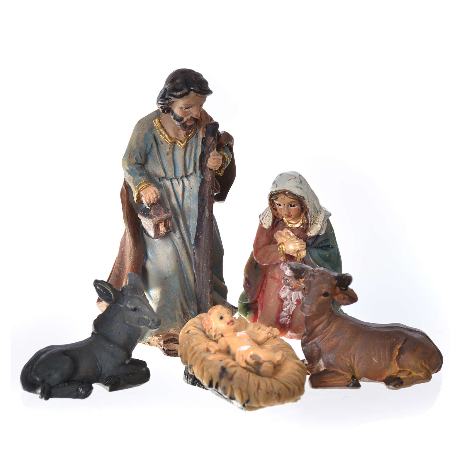 Presepe mini in resina 5 cm 4