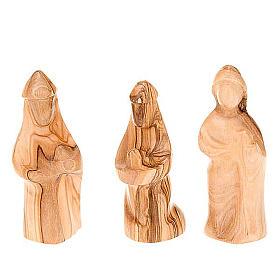 Stylised olive wood crib cm 8 s6
