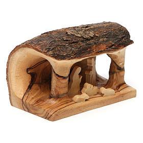 Olive wood Bethlehem nativity set s3