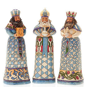 Pesebre resina 13,5 cmMini Blue Nativity s5