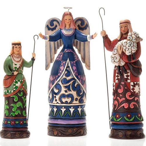 Crèche résine, 19 cm. Bethlehem's Miracle 8