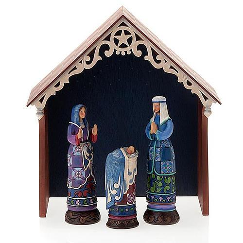Crèche résine, 19 cm. Bethlehem's Miracle 9