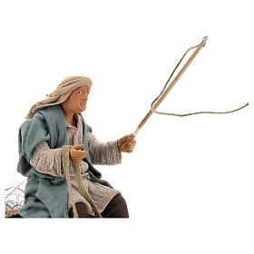 Movimento presepe pastore 14 cm Terracotta s2