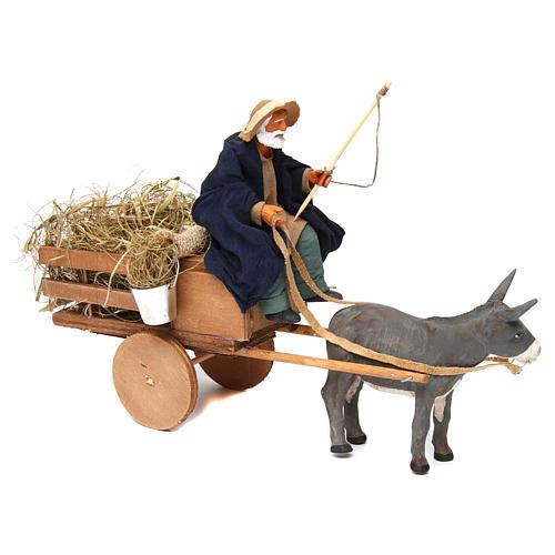 Movimento presepe pastore 14 cm Terracotta 3