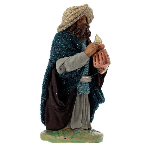 Nativity ser Three wise Kings 10 cm clay figurines 2