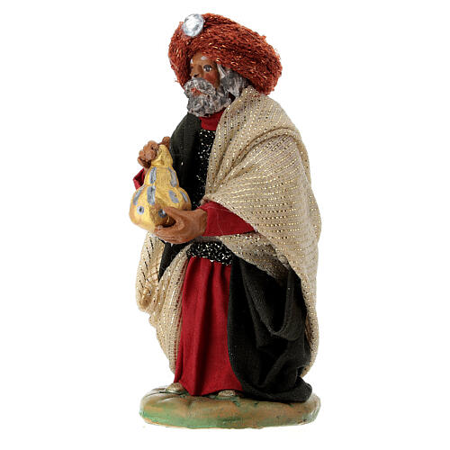Nativity ser Three wise Kings 10 cm clay figurines 3