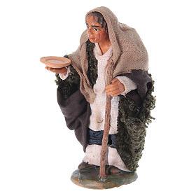 Pastore gobbo 10 cm terracotta s5