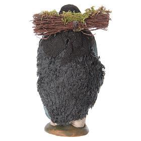Uomo legna in spalla 10 cm s4