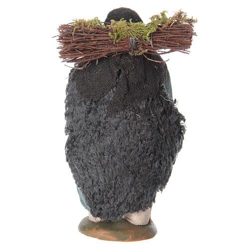 Uomo legna in spalla 10 cm 4