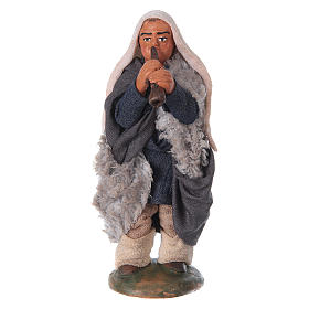 Neapolitan Nativity Scene: Nativity set accessory fifer 10 cm clay figurine