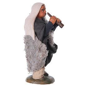 Nativity set accessory fifer 10 cm clay figurine s5