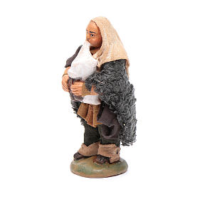 Nativity set accessory Piper 10cm clay figurine s2