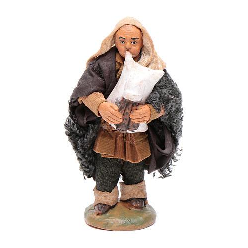 Nativity set accessory Piper 10cm clay figurine 1