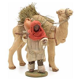 Nativity set accessory Dark cameleer with camel 10 cm figurines s1