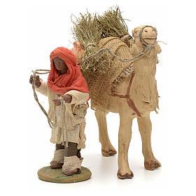 Nativity set accessory Dark cameleer with camel 10 cm figurines s2