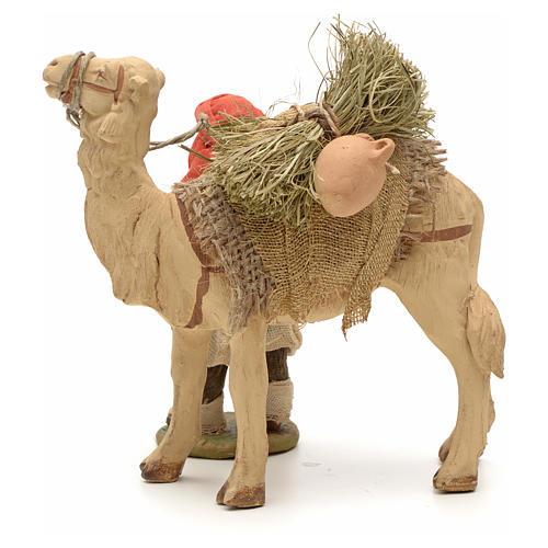Nativity set accessory Dark cameleer with camel 10 cm figurines 3