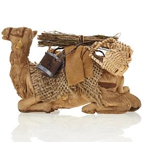 Nativity set accessory geared camel resting 10cm figurine s5