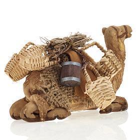 Nativity set accessory geared camel resting 10cm figurine s7