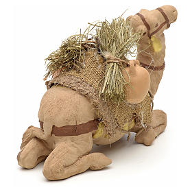 Nativity set accessory geared camel resting 10cm figurine s8