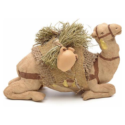 Nativity set accessory geared camel resting 10cm figurine 2