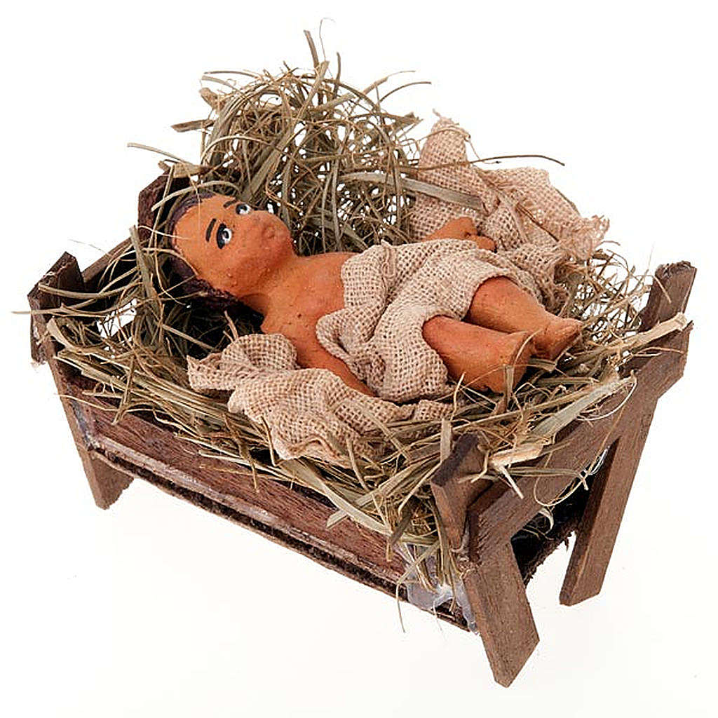 Nativity scene set, 10 cm tall 4