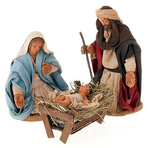 Nativity scene set, 10 cm tall 1